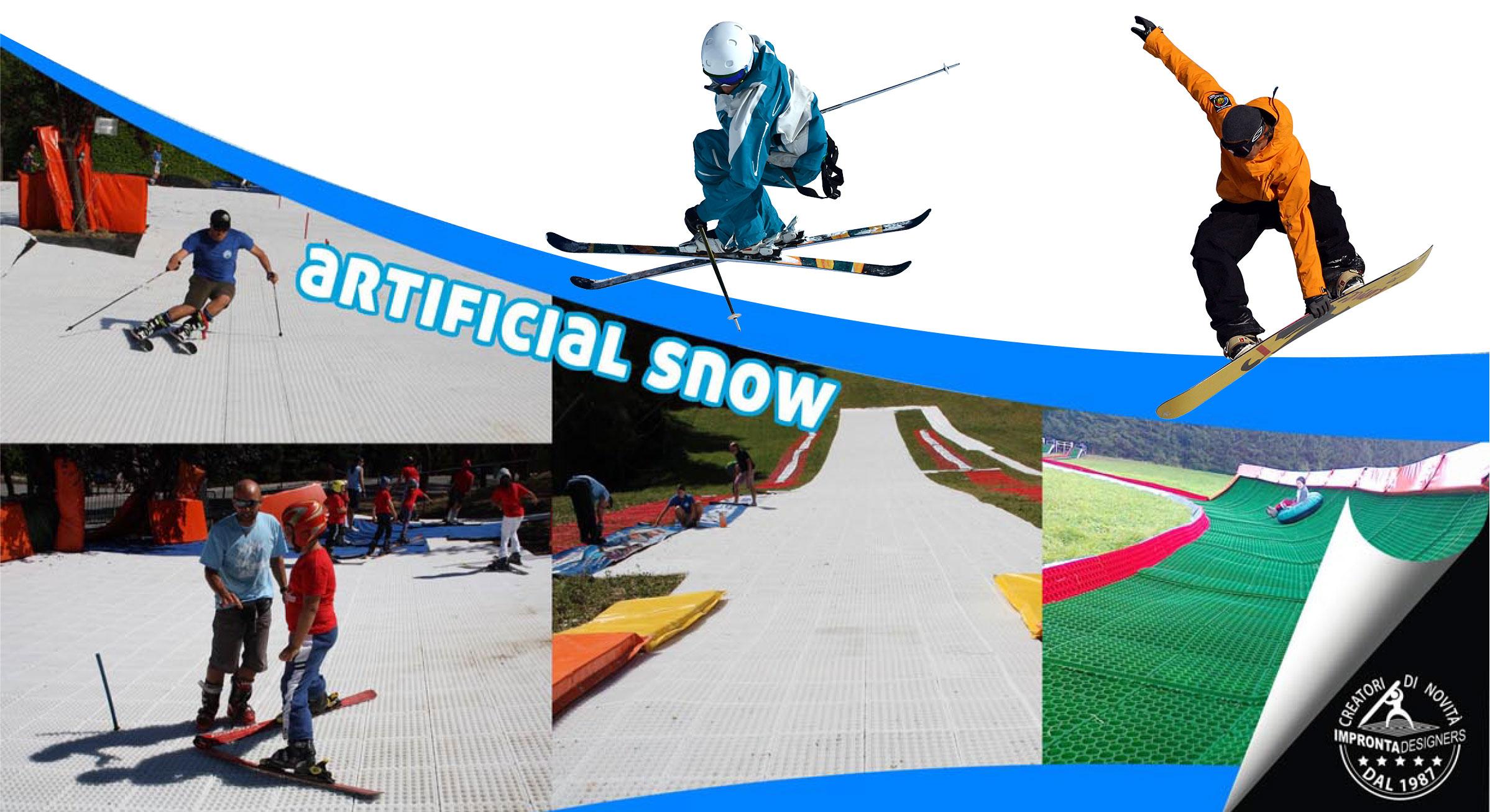 floorslide, artificial snow, tubing, fun activities