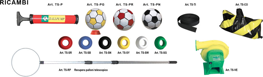 gioco gonfiabile, target soccer