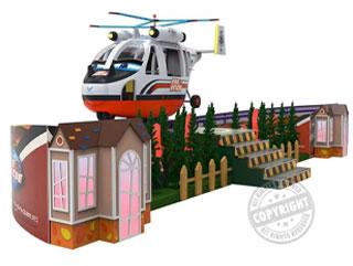 vendita attrazioni per bambini, area tematica