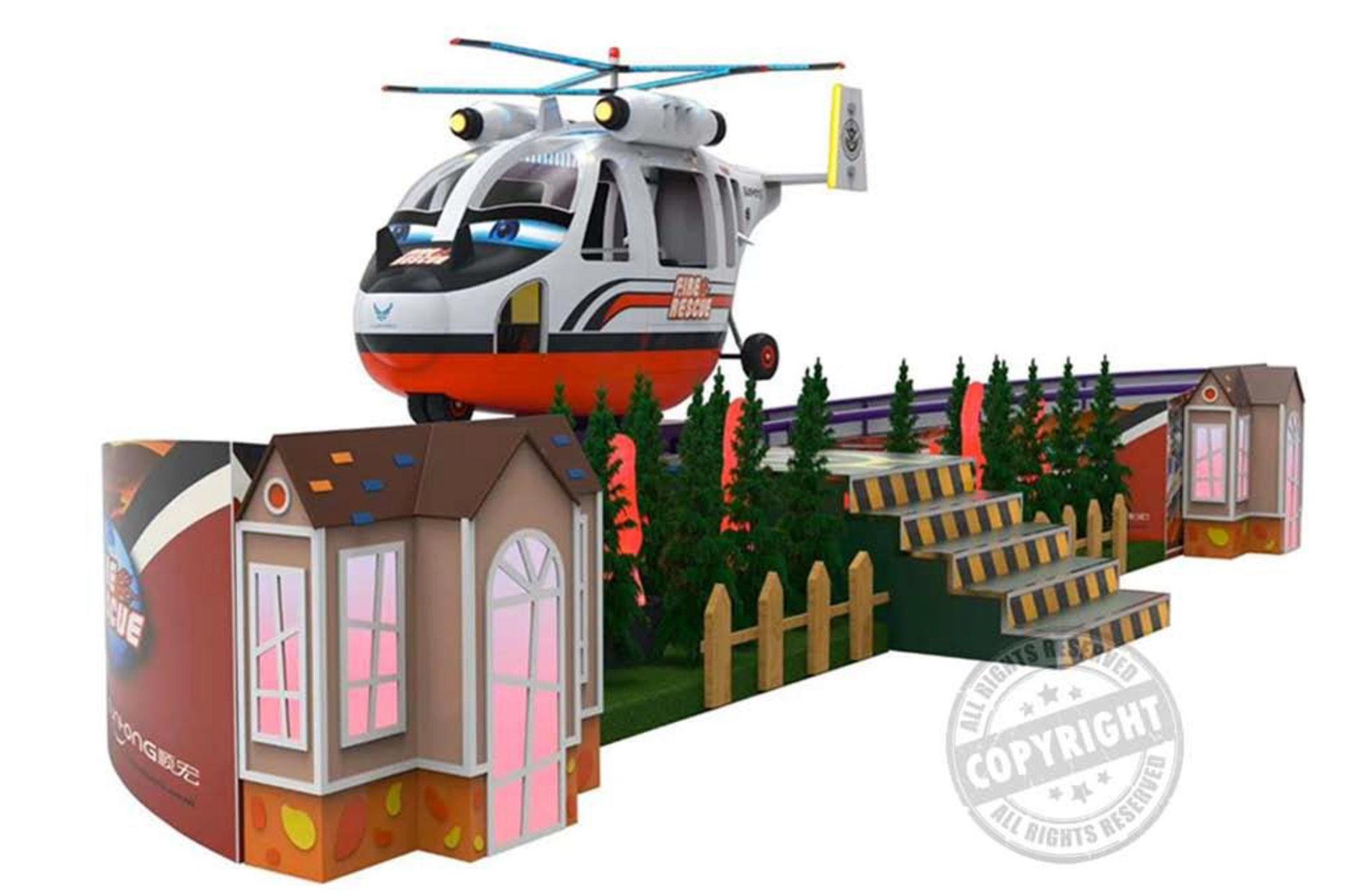 giostre per bambini - Fireman-Helycopter
