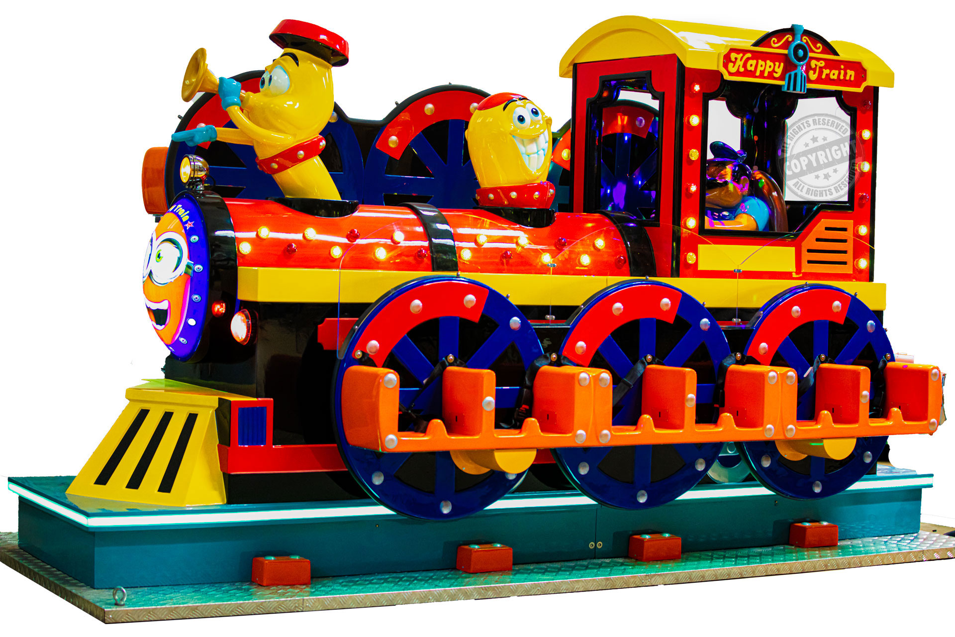 giostre bambini, trenino