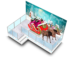 Santa Claus Fly Station